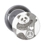 Botón de la panda pins