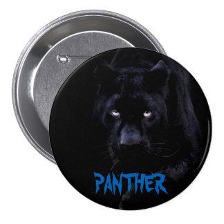 Botón de la pantera negra pin redondo de 3 pulgadas