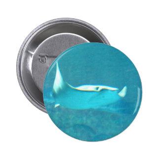 Botón de la pastinaca pin redondo de 2 pulgadas