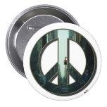 Botón de la paz de la avenida de Madison Pins
