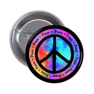 Botón de la paz pin