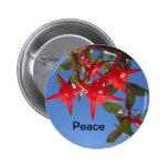 Botón de la paz pins