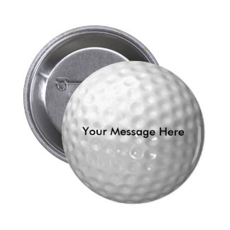 Botón de la pelota de golf pins