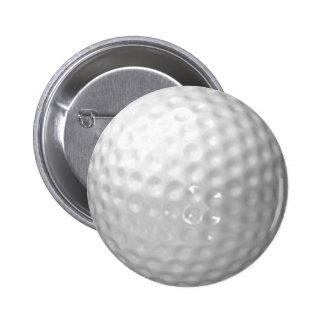 botón de la pelota de golf pin