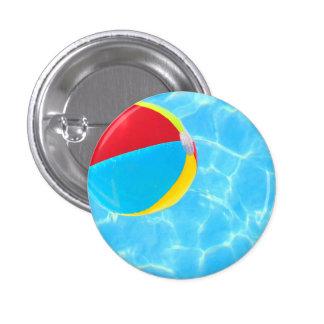 Botón de la pelota de playa pins