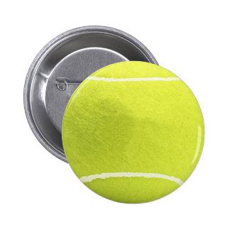 Botón de la pelota de tenis pin