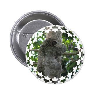 Botón de la pereza pins
