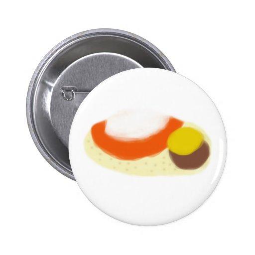 Botón de la pintura del Burrito Pin