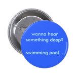 Botón de la piscina