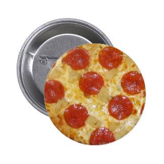 Botón de la pizza - personalizar pins