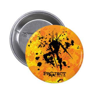 Botón de la premier de Londres del proyecto Pin Redondo De 2 Pulgadas