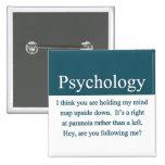 Botón de la psicología pin