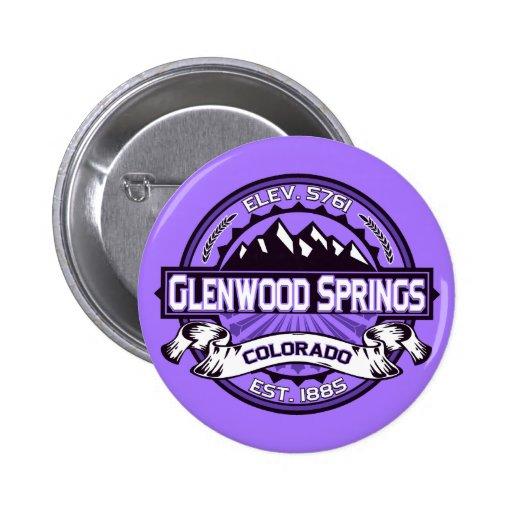 Botón de la púrpura de Glenwood Pin