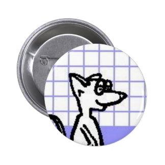 Botón de la rata del laboratorio pin