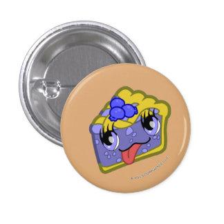 Botón de la rebanada de la empanada de arándano de