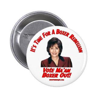 Botón de la rebelión del boxeador