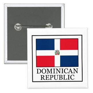 Botón de la República Dominicana