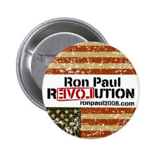 Botón de la revolución de Ron Paul Pins