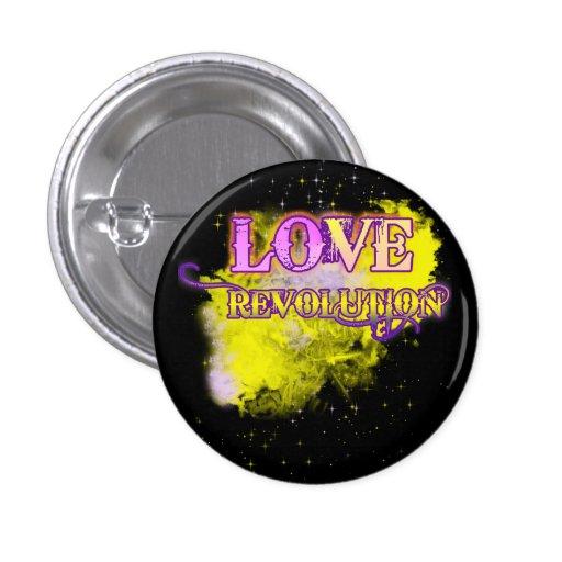 Botón de la revolución del amor pins