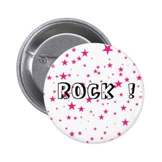 Botón de la roca pins