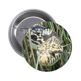 Botón de la serpiente de R0004 Bull Pin Redondo De 2 Pulgadas