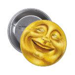 Botón de la sol pin redondo de 2 pulgadas