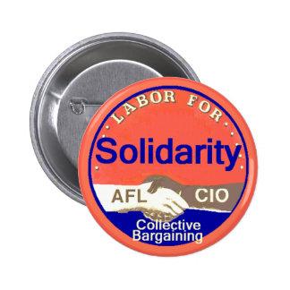 Botón de la solidaridad pin