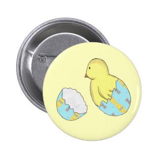 Botón de la sorpresa del polluelo del huevo de pins
