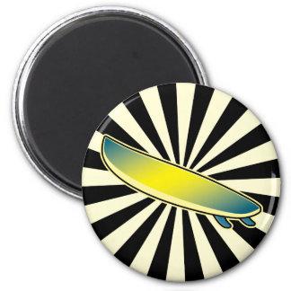 botón de la tabla hawaiana imán redondo 5 cm
