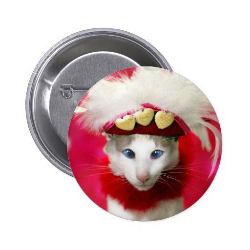 Botón de la tarjeta del día de San Valentín del ga