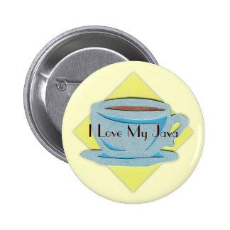 Botón de la taza de café
