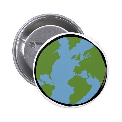 Botón de la tierra