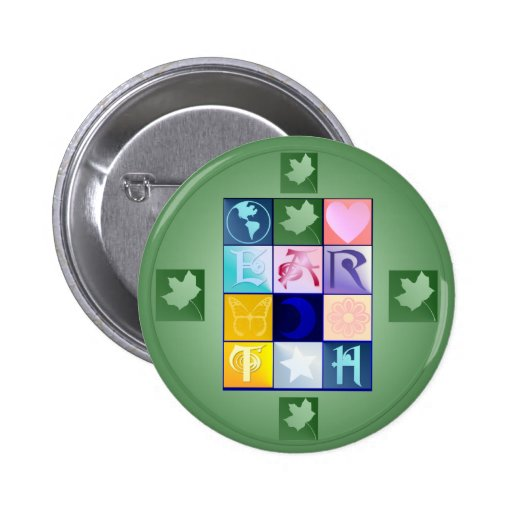 Botón de la TIERRA Pins