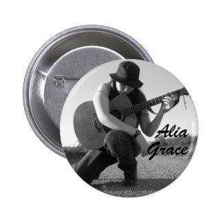 Botón de la tolerancia de Alia Pins