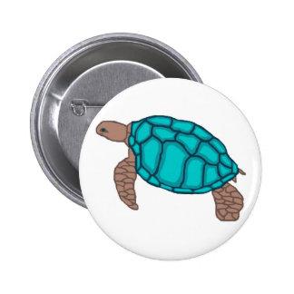 Botón de la tortuga de mar del orgullo de Honu Pins