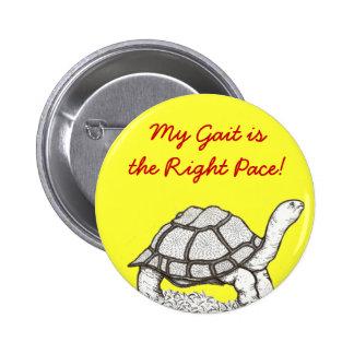 Botón de la tortuga pins