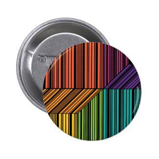Botón de la trinidad del cubo del código de barras