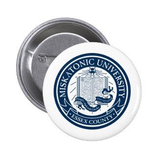 Botón de la universidad de Miskatonic Pin