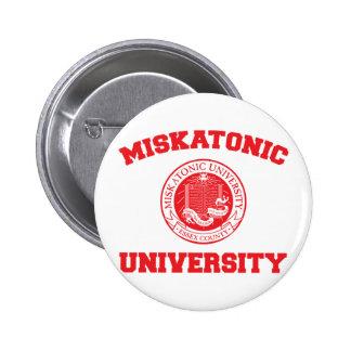 Botón de la universidad de Miskatonic Pins