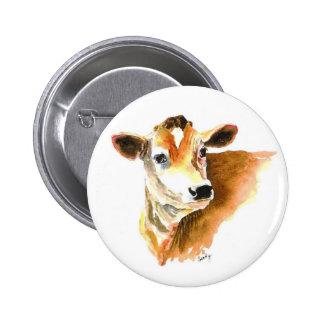 botón de la vaca pins