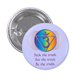 Botón de la verdad del tercer ojo pins