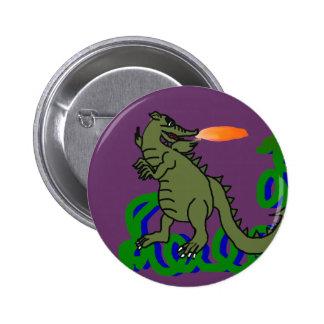 Botón de la vid del dragón pins