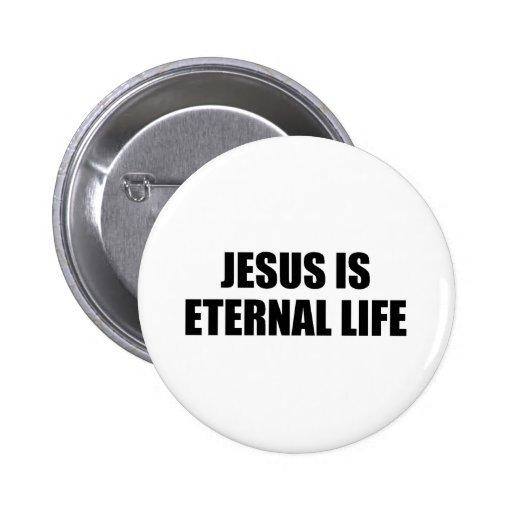 Botón de la vida eterna pin