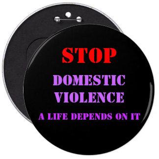 Botón de la violencia en el hogar pins