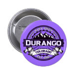 Botón de la violeta del logotipo de Durango Pin