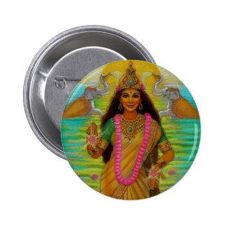 Botón de Lakshmi de la diosa Pins