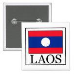 Botón de Laos Pin Cuadrado