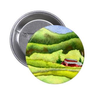 Botón de las carreteras nacionales pin redondo de 2 pulgadas