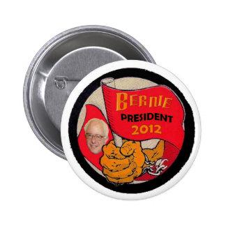 Botón de las chorreadoras 2012 de Bernie Pin Redondo De 2 Pulgadas