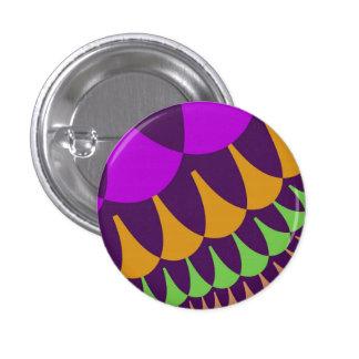 Botón de las escalas de la púrpura y del naranja